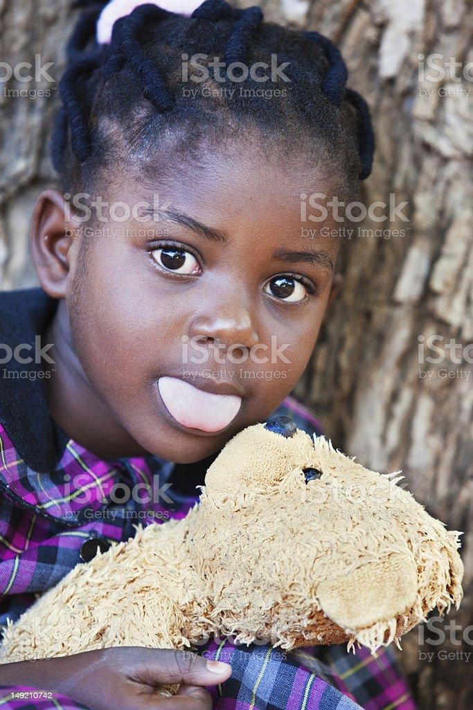 playfull teddy stock photo