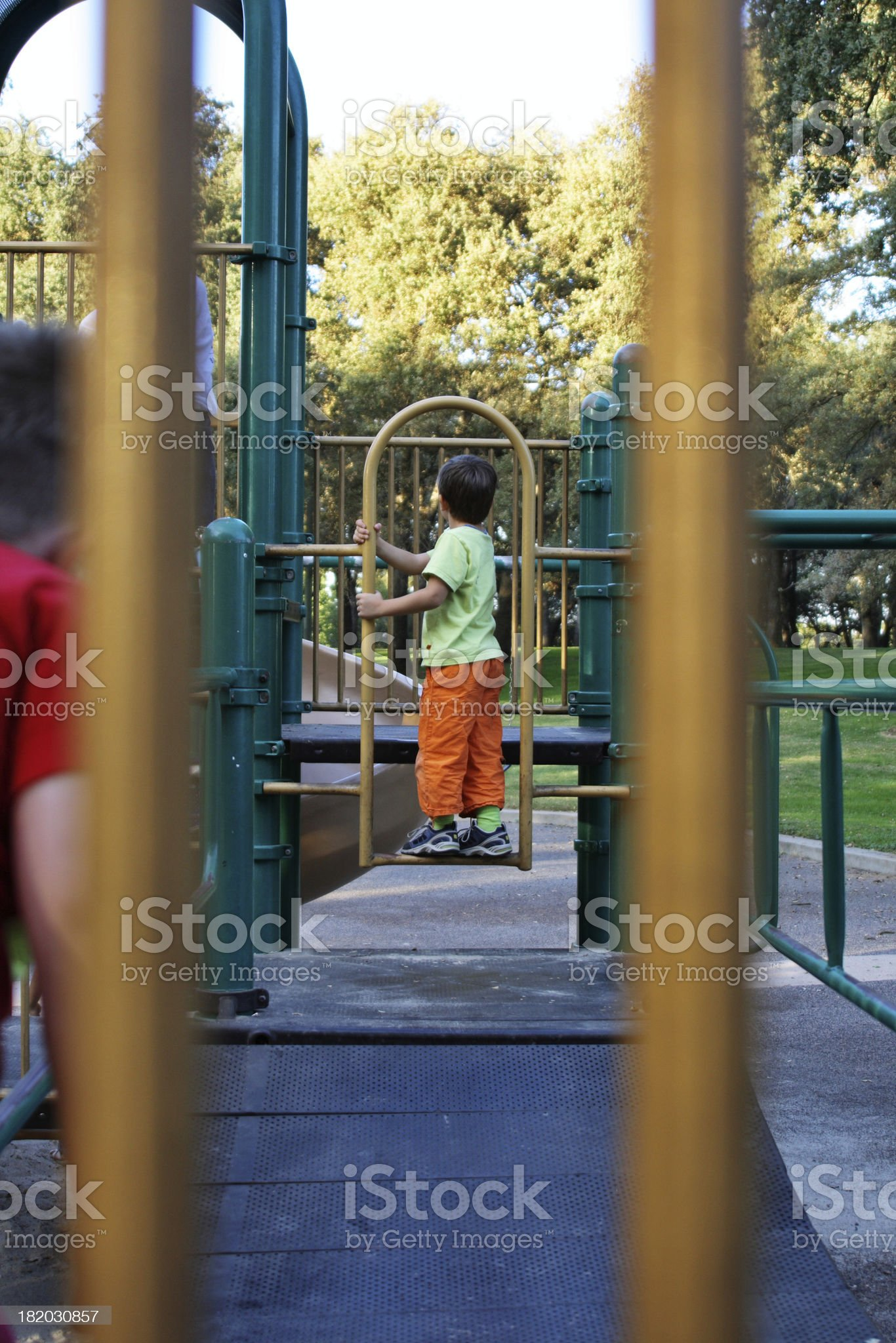 Playground and Children royalty-free stock photo