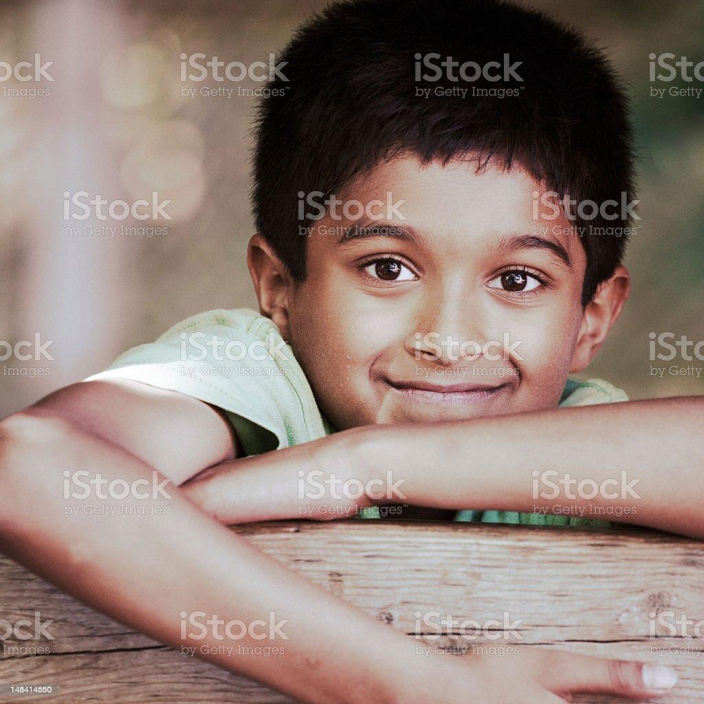 Playground Boy royalty-free stock photo