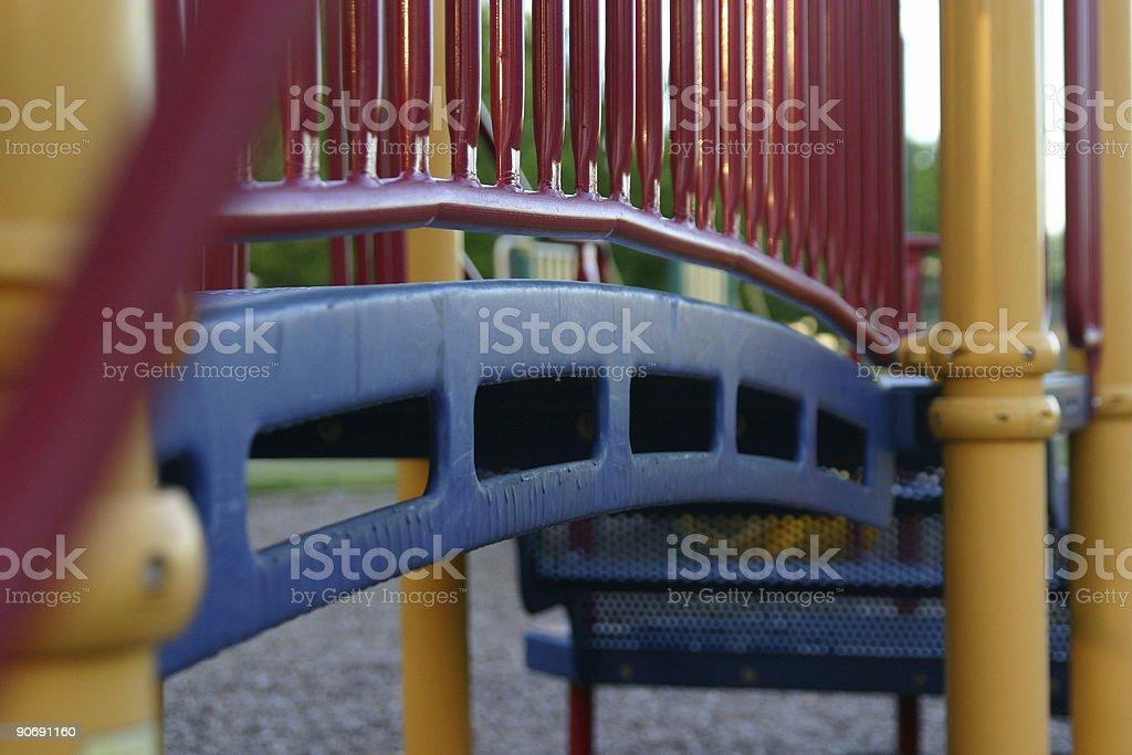 Playground equipment detail royalty-free stock photo