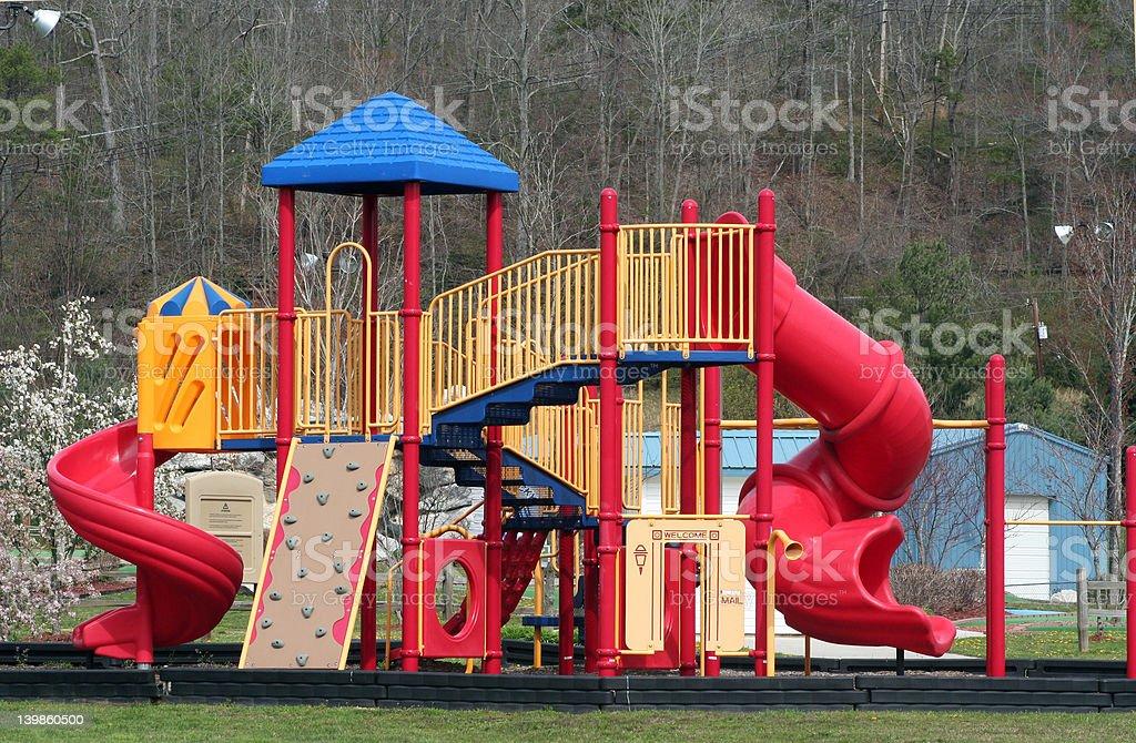 Playground equipment royalty-free stock photo