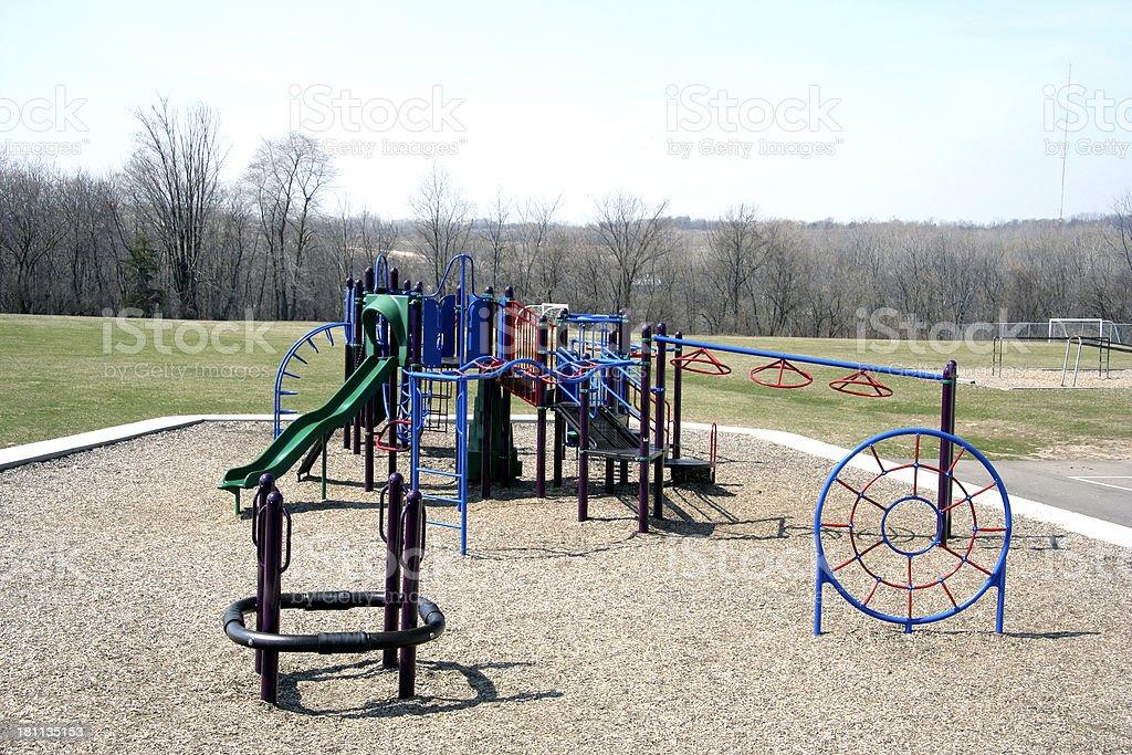 Playground equiptment royalty-free stock photo
