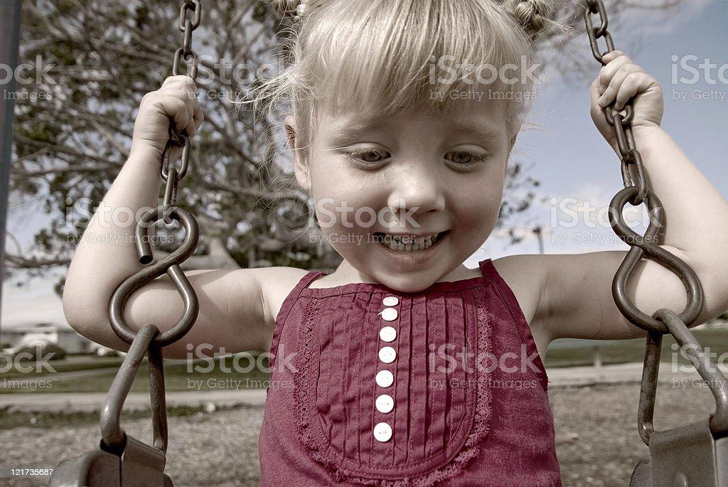 Playground Fun royalty-free stock photo