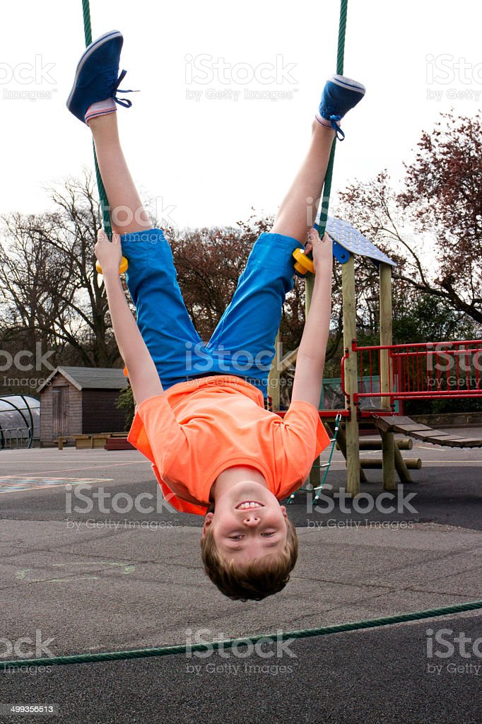 Playground Fun stock photo