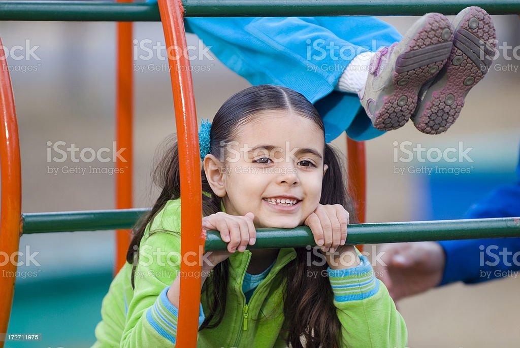 Playground Happiness 2 royalty-free stock photo