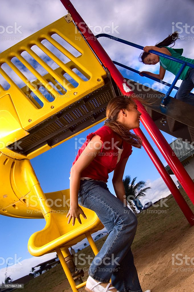 Playground. stock photo