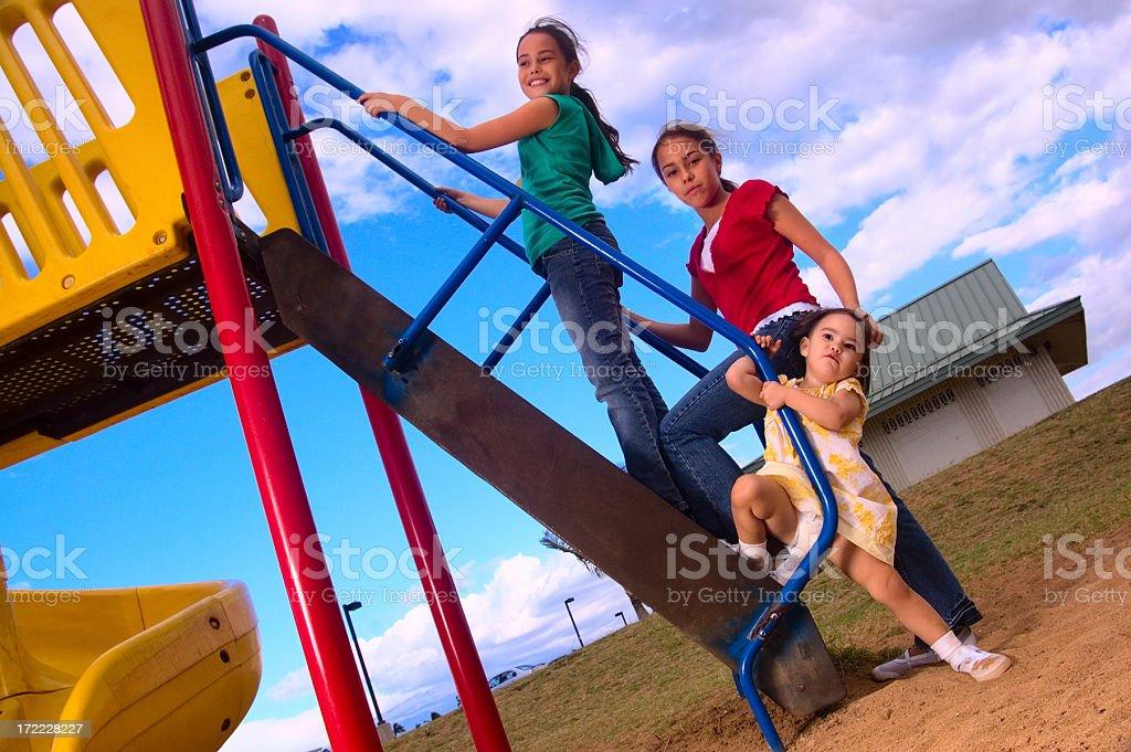 Playground. stock photo