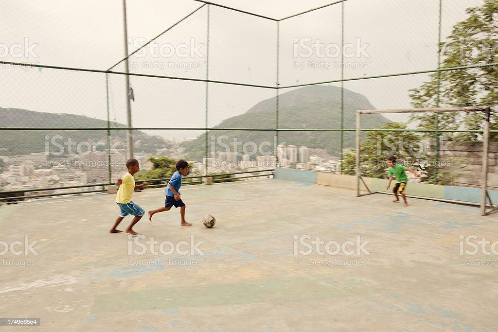 Playground Soccer royalty-free stock photo