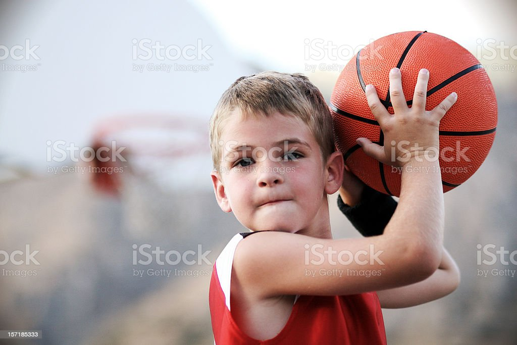 Playground Streetball stock photo