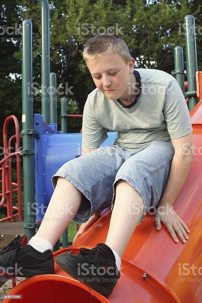 Playground Teen 4 stock photo