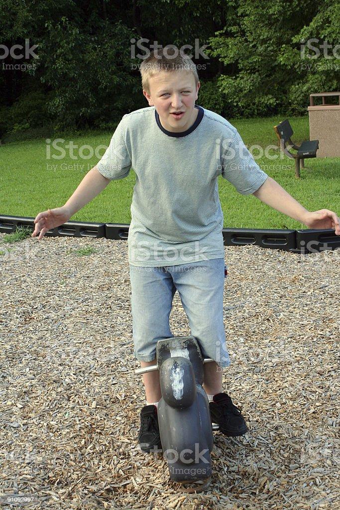 Playground Teen Eight stock photo