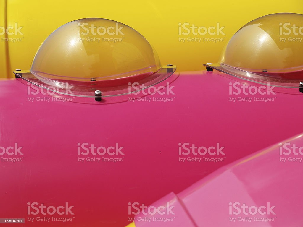 Playground tubes royalty-free stock photo