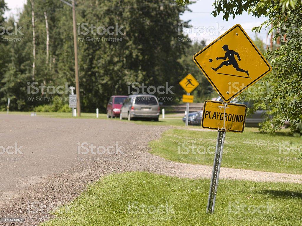 playground zone stock photo