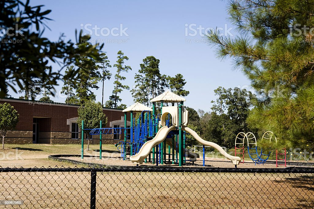 Playgrounds royalty-free stock photo