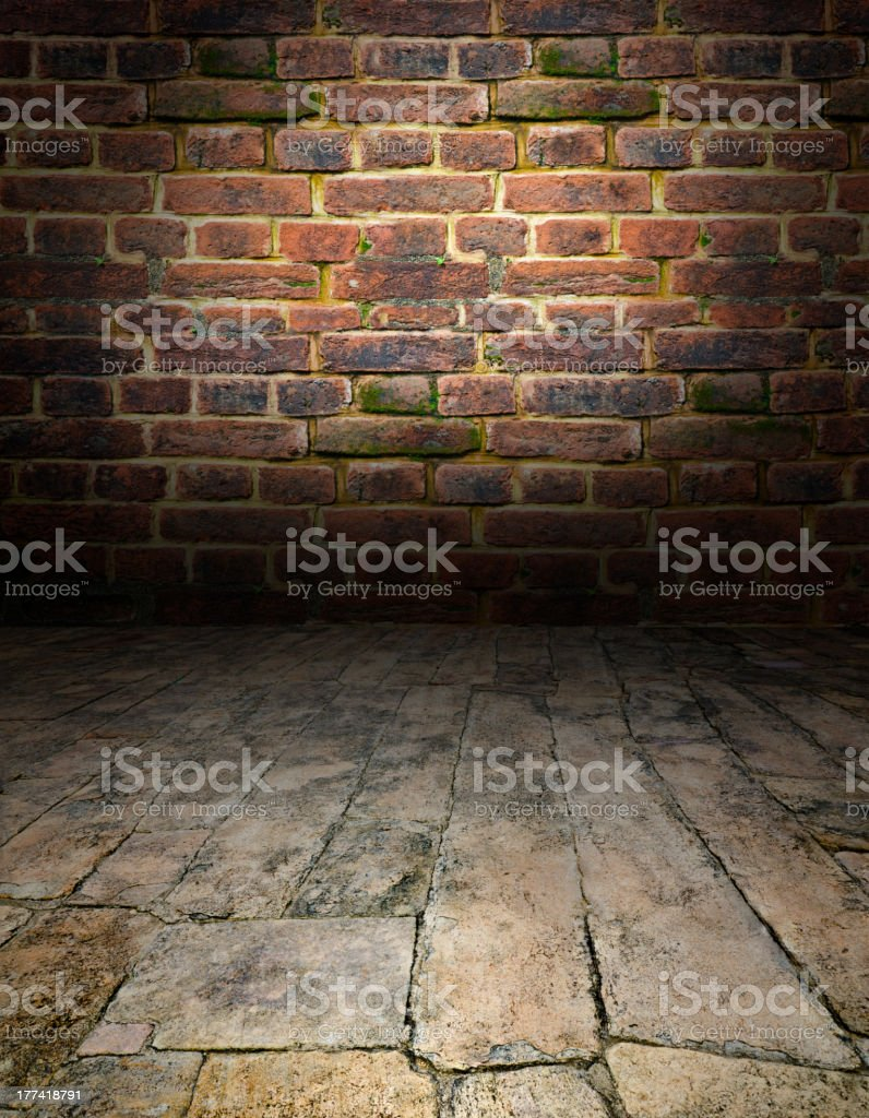 playing area in a dark style royalty-free stock photo