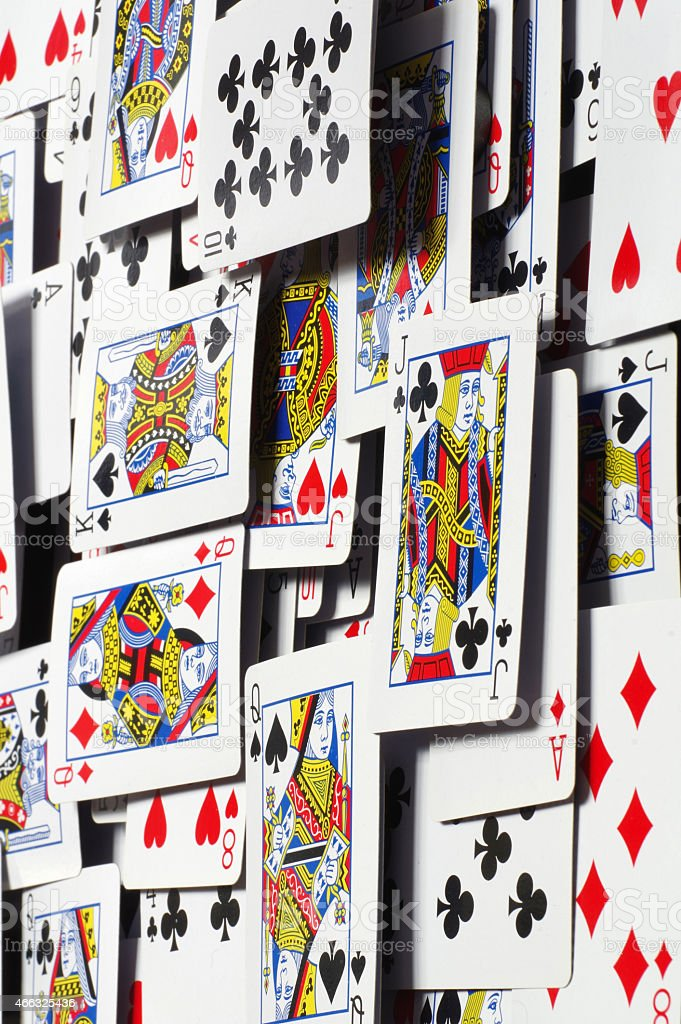 playing cards backgrounds three stock photo