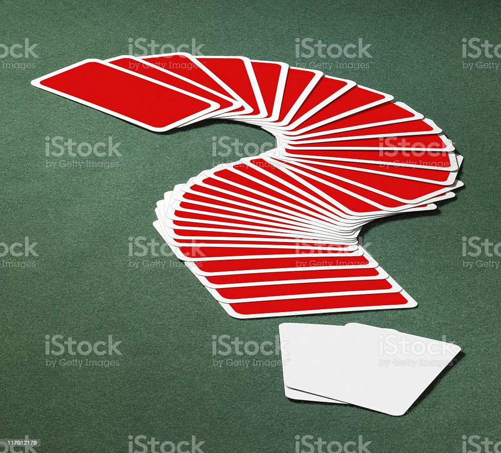 playing cards royalty-free stock photo