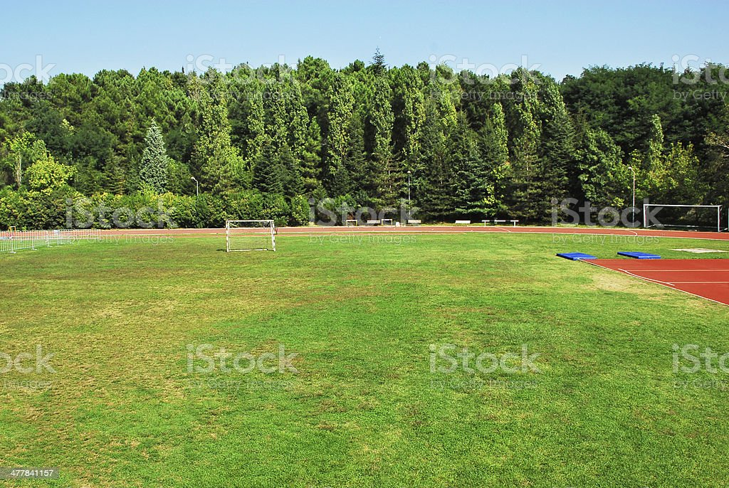 Playing Field (Click for more) royalty-free stock photo