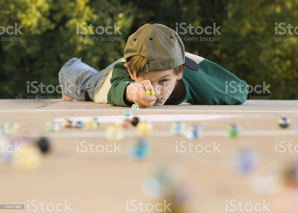 Playing for Keeps royalty-free stock photo