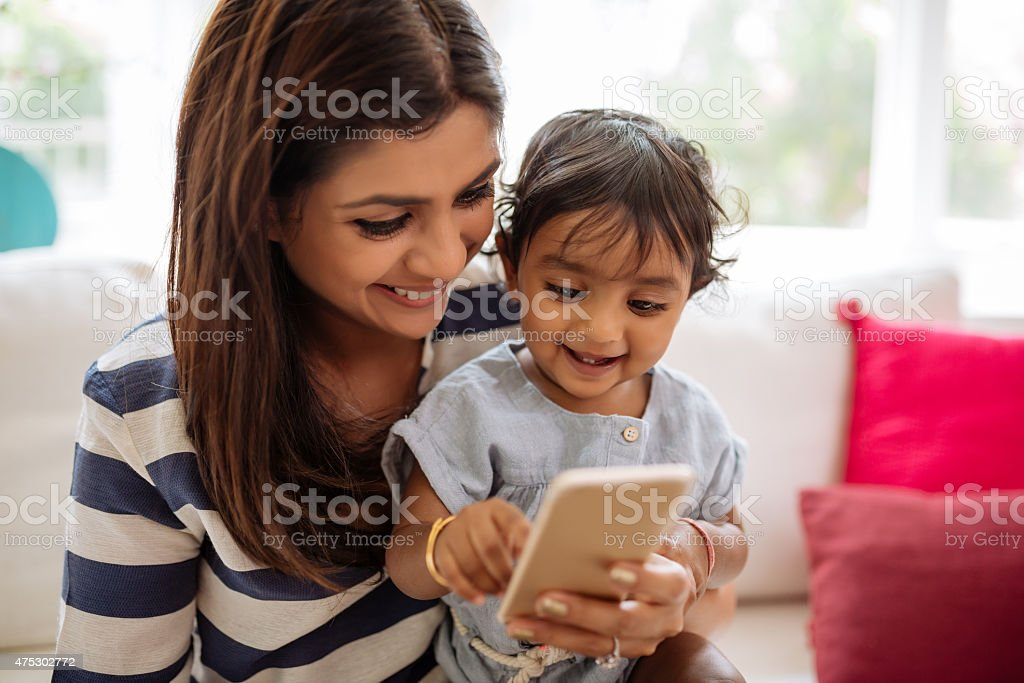 Playing game stock photo
