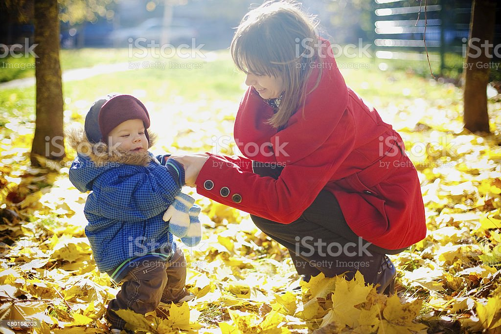 Playing In The Park royalty-free stock photo