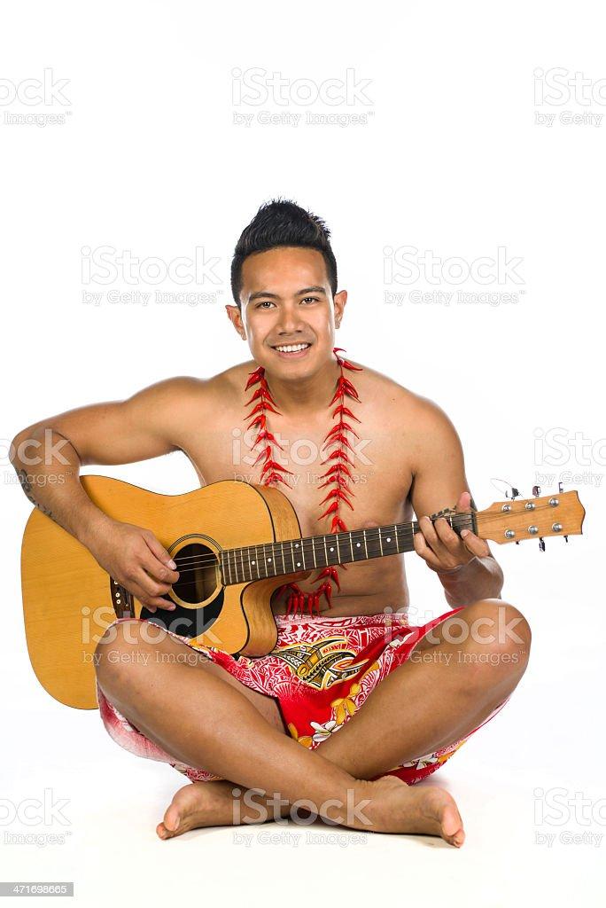 Playing music royalty-free stock photo