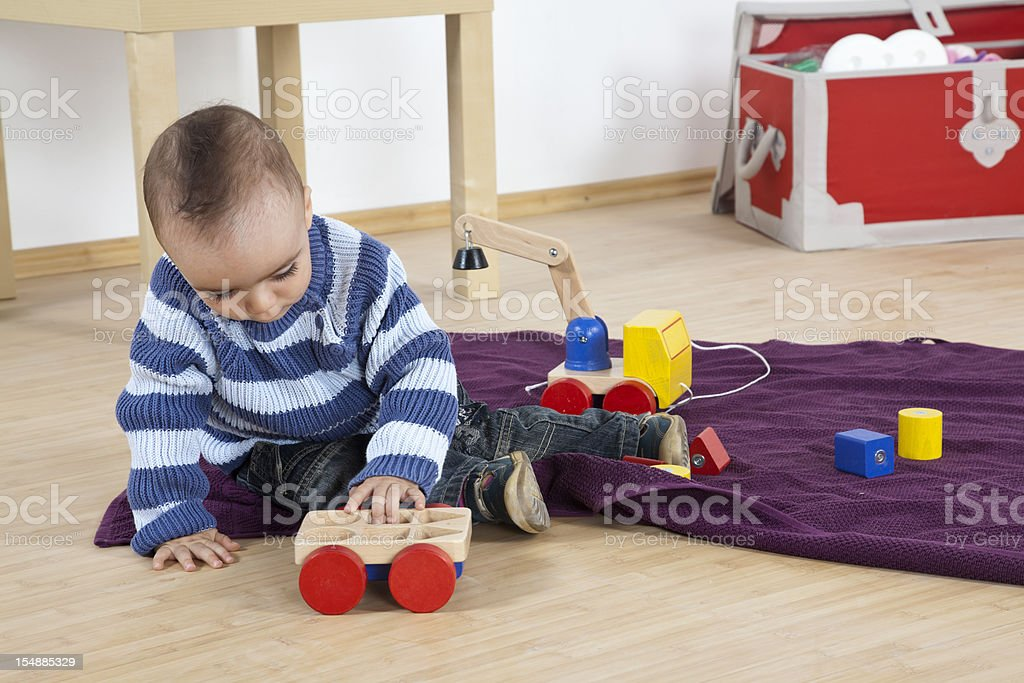 Playing time stock photo