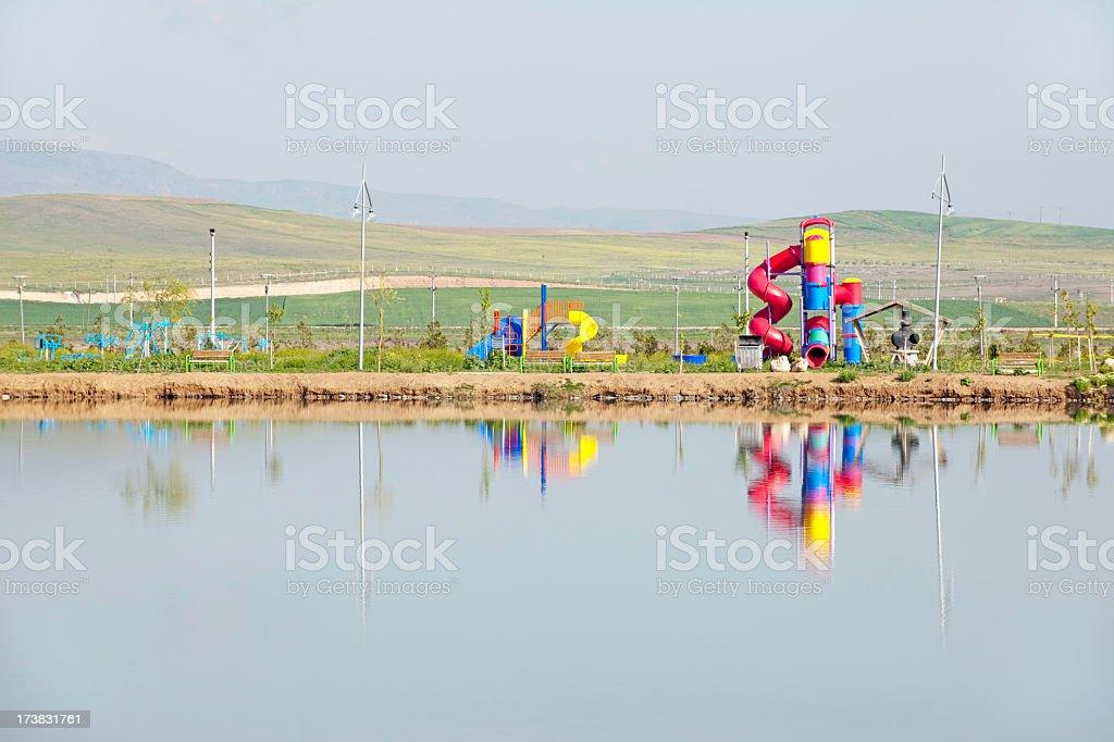playpen stock photo