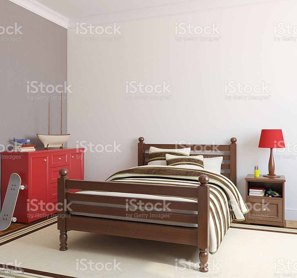 Playroom interior. royalty-free stock photo