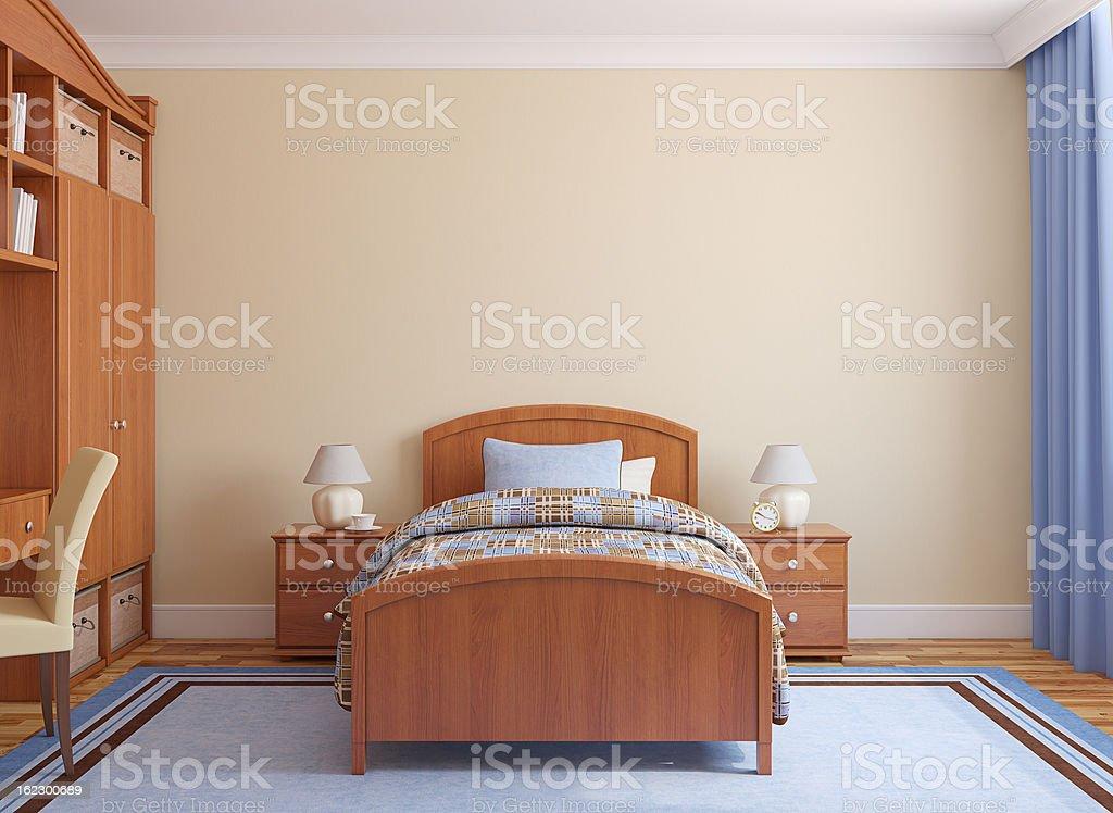 Playroom interior. royalty-free stock photo