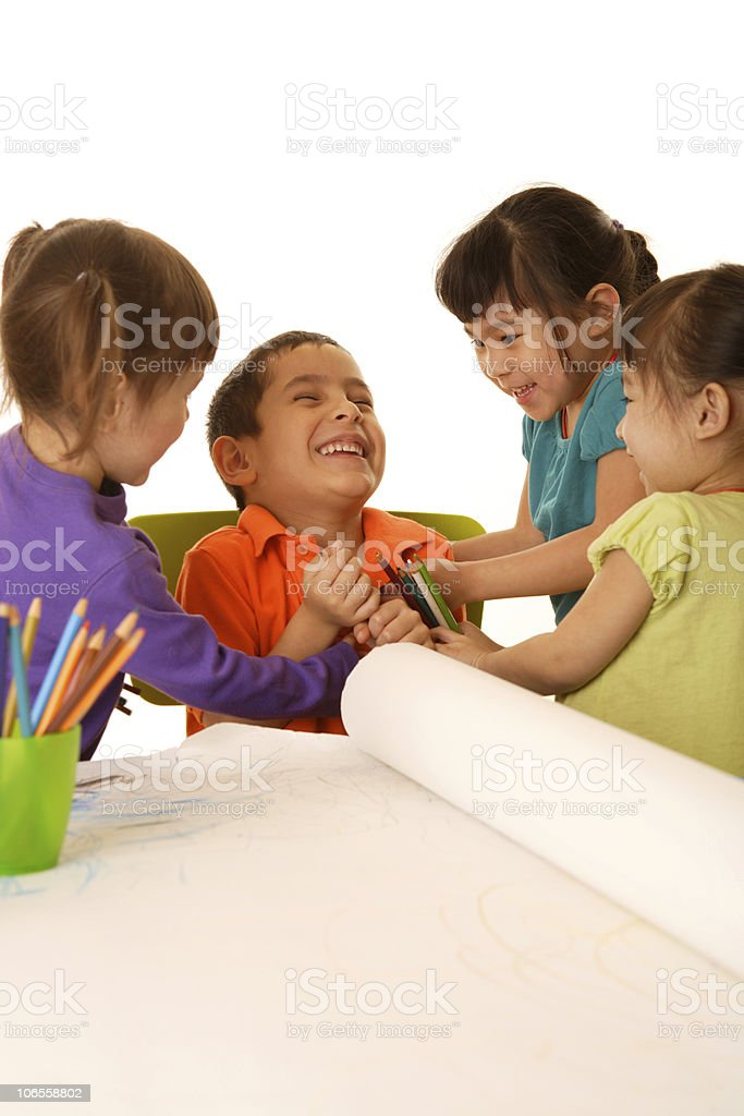 Playschool royalty-free stock photo