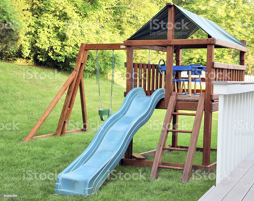 Backyard Jungle Gym Pictures, Images And Stock Photos