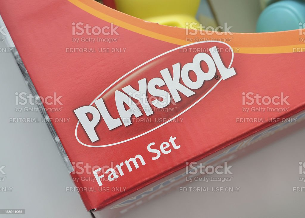 Playskool royalty-free stock photo