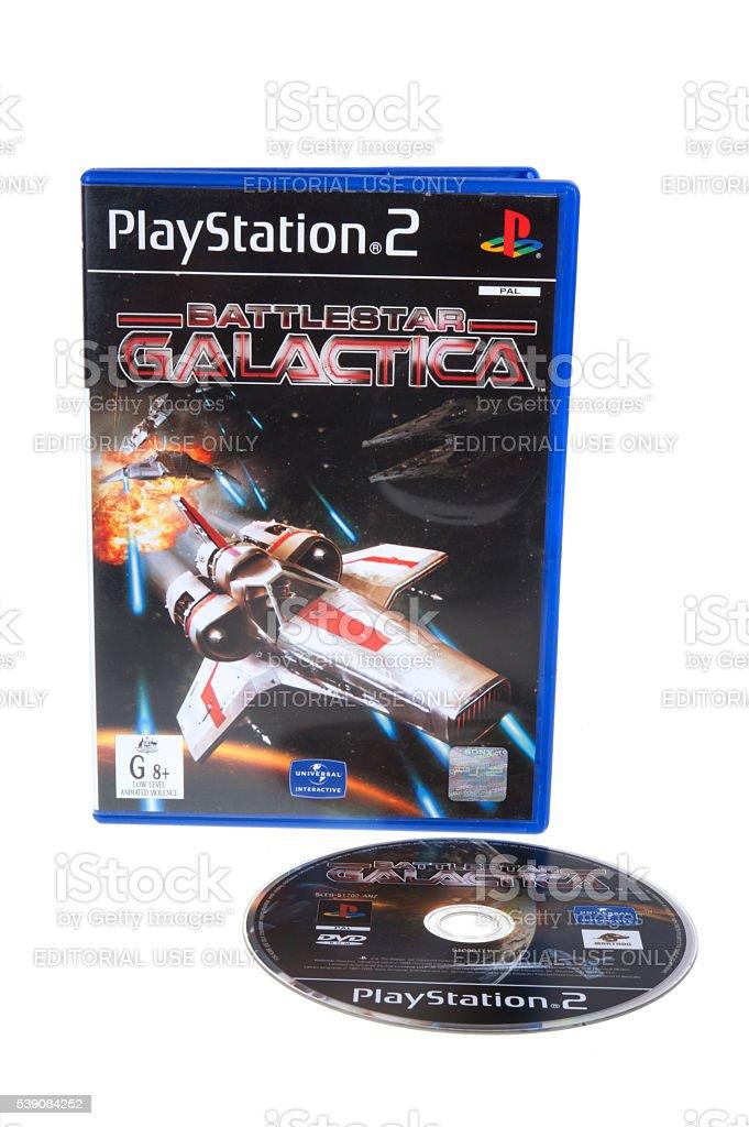 Playstation 2 Battlestar Galactica Game stock photo