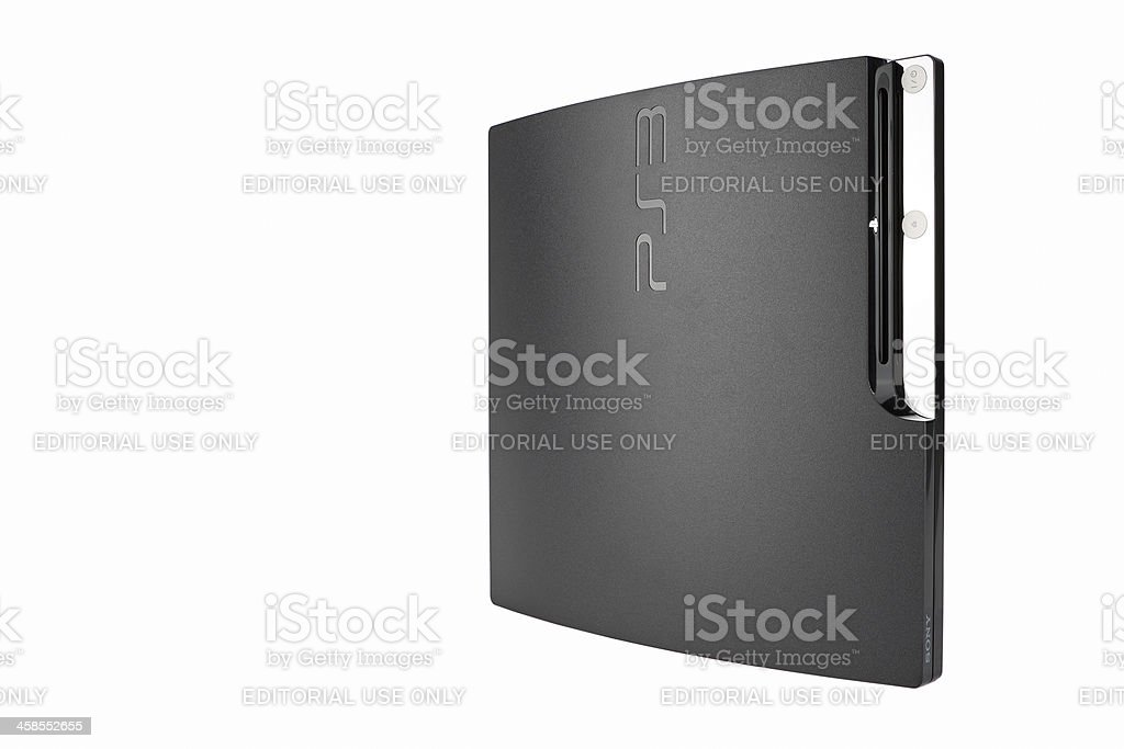 Playstation 3 Console stock photo