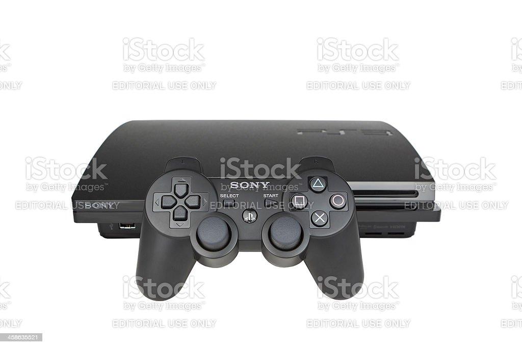 PlayStation 3 royalty-free stock photo