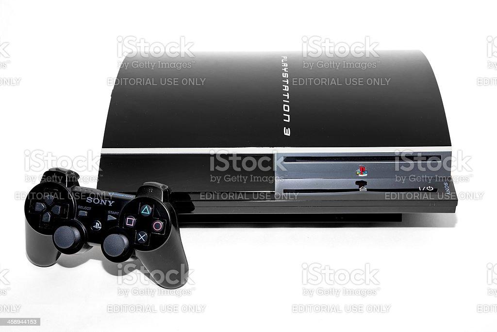 Playstation 3 stock photo