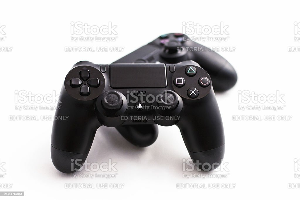 PlayStation 4 PS4 Controller royalty-free stock photo