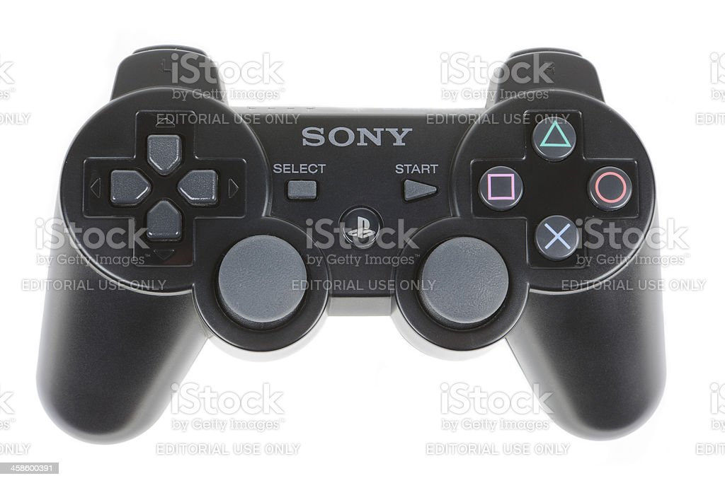Playstation Controller stock photo