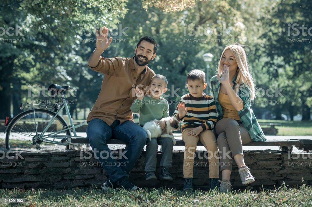 Playtime stock photo