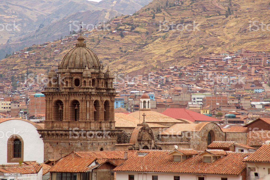 Plaza de Armas - Cusco stock photo