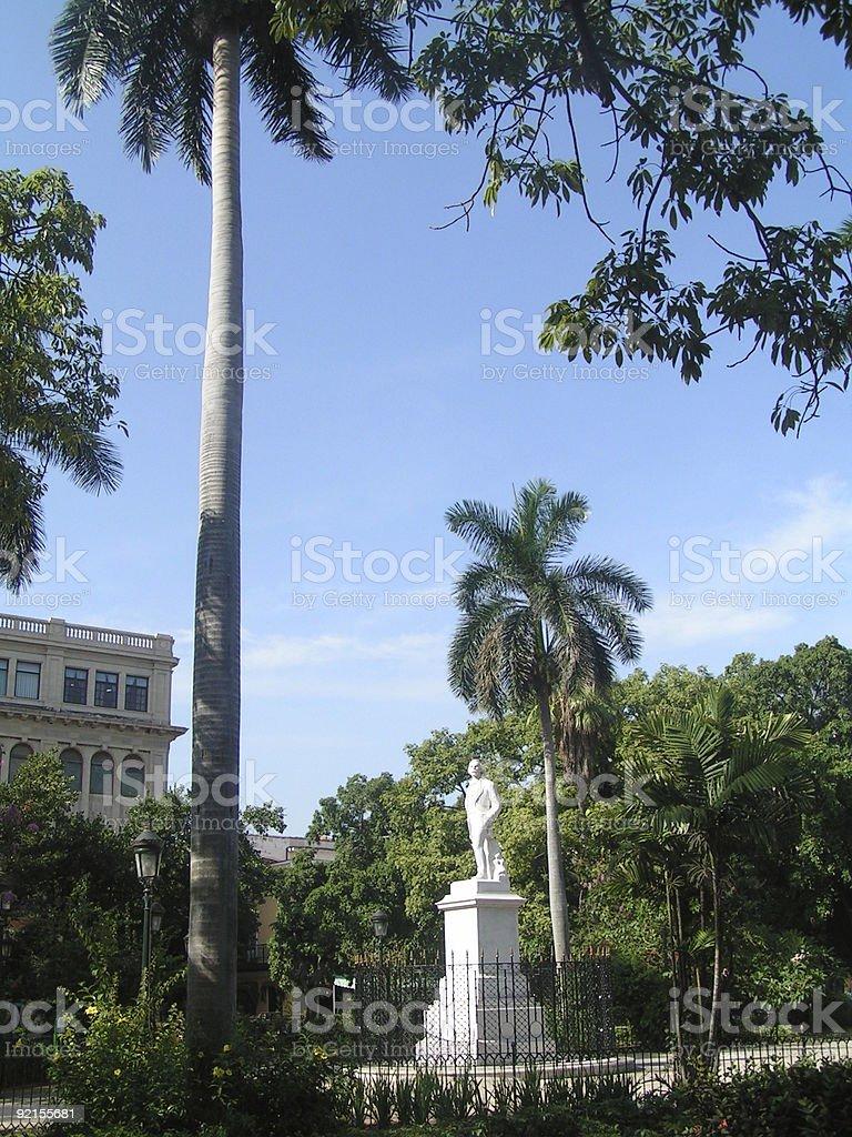 Plaza de Armas,Havana stock photo