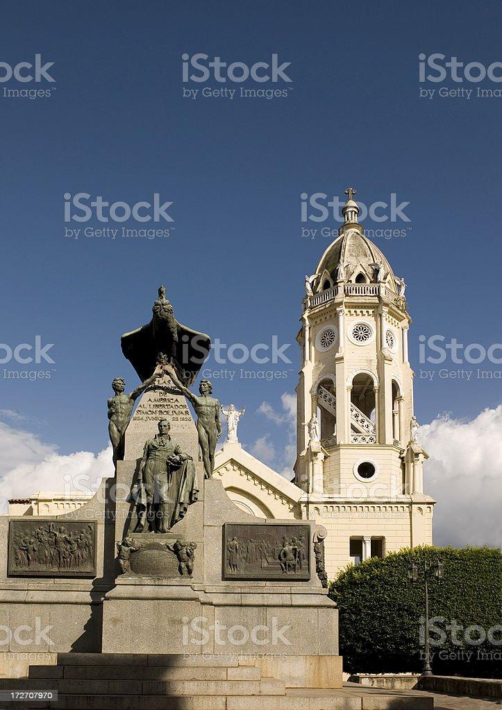 Plaza De Bolivar stock photo