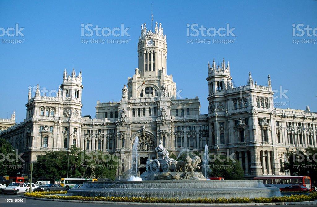 Plaza de Cibeles royalty-free stock photo