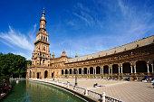 Plaza de España in Sevilla, Spain