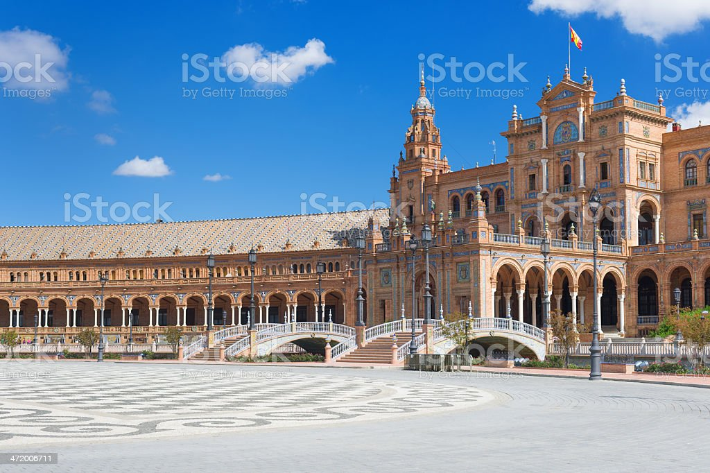 Plaza de Espa?a royalty-free stock photo