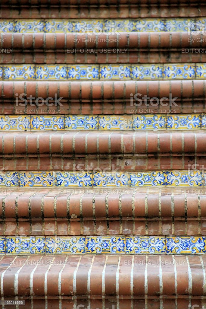 Plaza de España, Seville, Spain stock photo