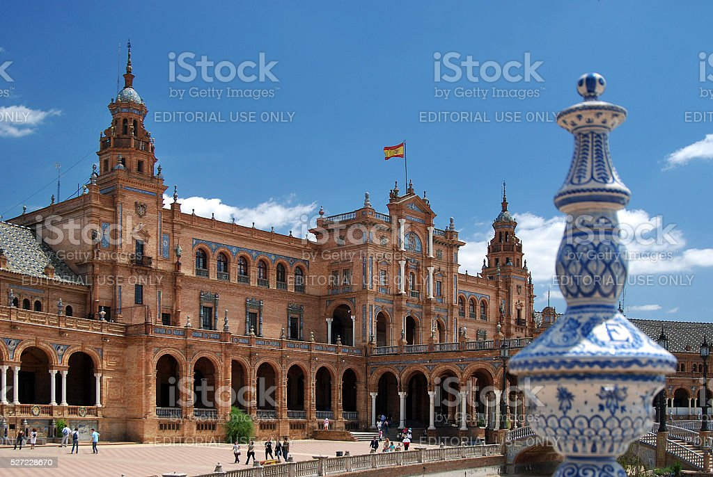 Plaza de España, Sevilla, Spain stock photo