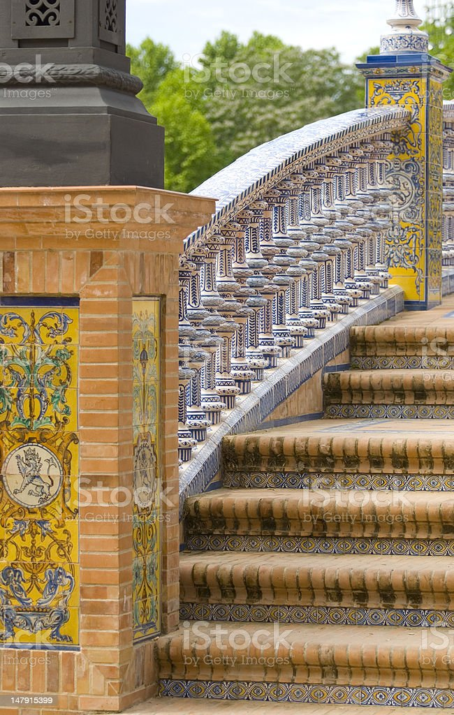 Plaza de Espagna royalty-free stock photo