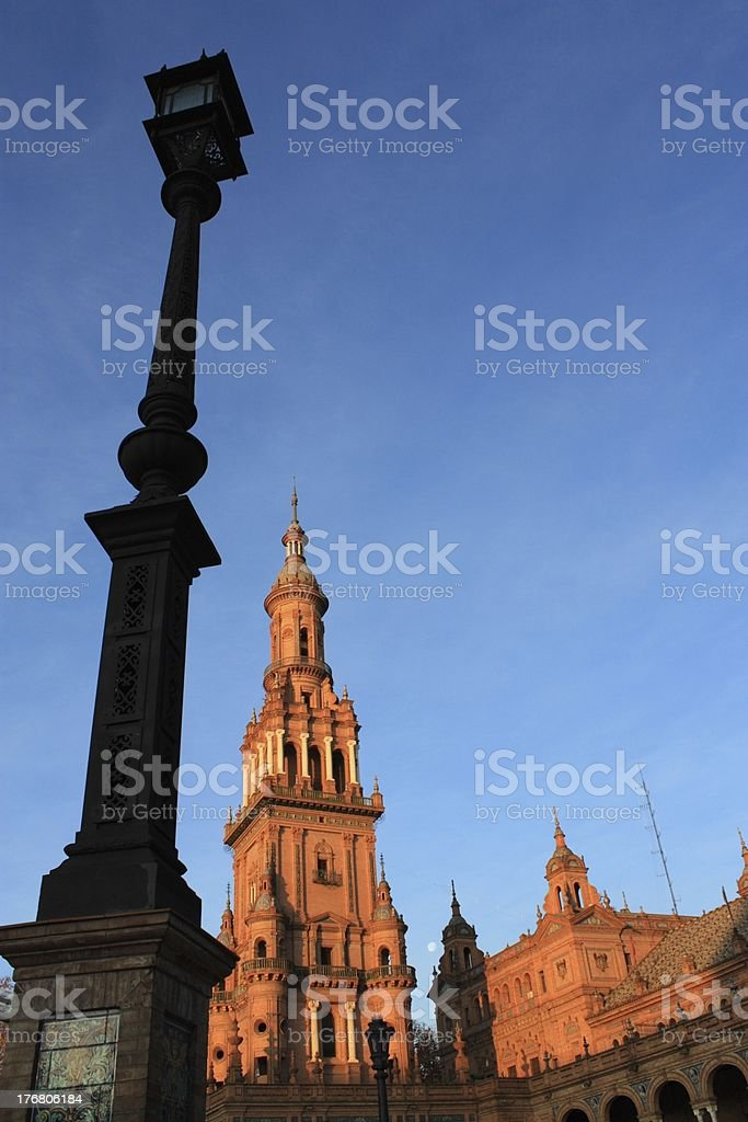 Plaza de Espana royalty-free stock photo